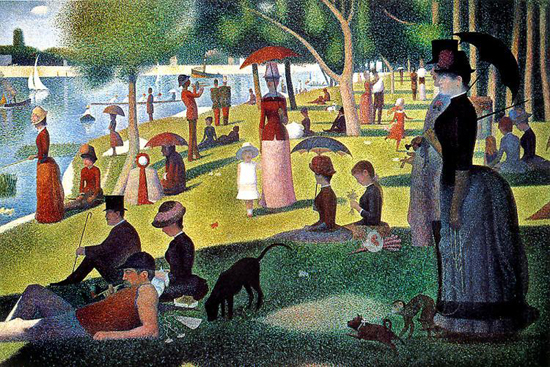Georges Seurat, A Sunday Afternoon On La Grande Jatte